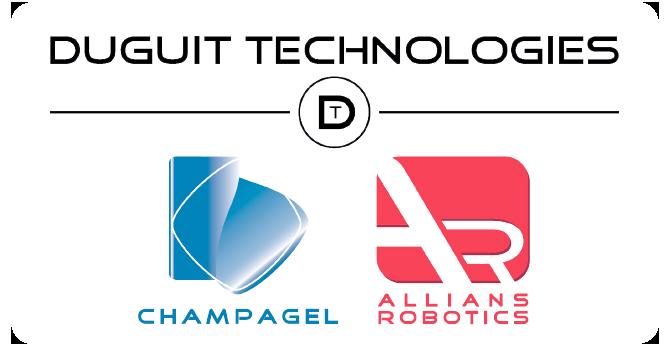 DUGUIT Technologies - Champagel, leader mondial des bacs de dégorgement – Allians Robotics, expert en robotique